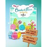 Cherche et trouve enfants: Livre activités dès 5 ans - La chasse aux oeufs aux pays des bonbons (French Edition)