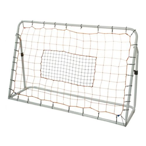 Franklin Sports Soccer Rebound Net - Training Soccer Net - Perfect For Backyard Soccer Practice - Portable 6'x4' Net With Steel Frame - White