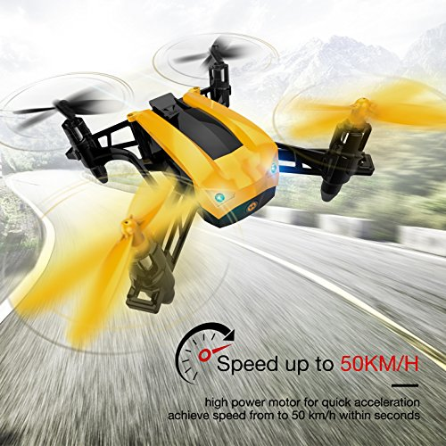 Holy Stone HS150 Bolt Bee Mini Racing Drone RC Quadcopter RTF 2.4GHz 6-Axis Gyro with 50KMH High...