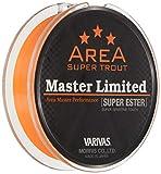 VARIVAS バリバス エステルライン スーパートラウトエリア マスターリミテッド スーパーエステル 140m 0.4号 2.1lb ネオオレンジ