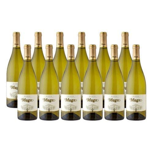 Muga Fermentado Barrica - Vino Blanco - 12 Botellas