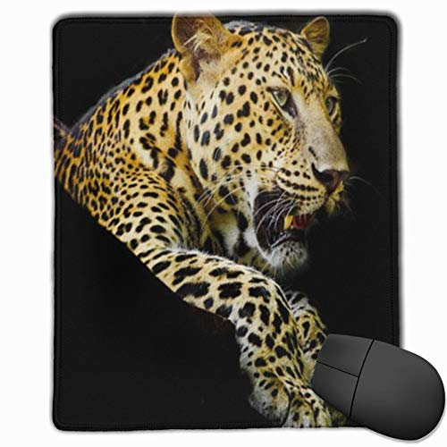 DAOPUDA Gaming Mauspad 250x300x3mm Moderner Luxus 3D Gold Leopard Office Mauspad rutschfeste Mousepad für PC,Computer und Laptop