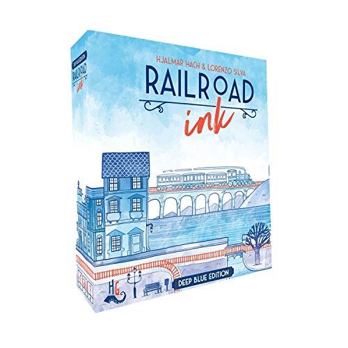 Railroad Ink: Deep Blue Edition (engl.)