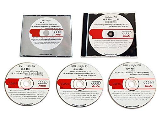 Original MMI 2G Software Update CDs auf MMI Softwarestand 5570 High 2G