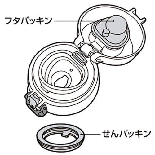 『サーモス ケータイマグJNLシリーズ交換用パッキンセット(フタパッキン・せんパッキン各1個) B-004643』のトップ画像