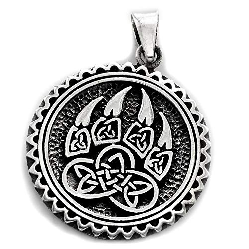 FRAM Bärenkralle Anhänger Amulett Talisman Bärentatze Schutzamulett Bärenklaue