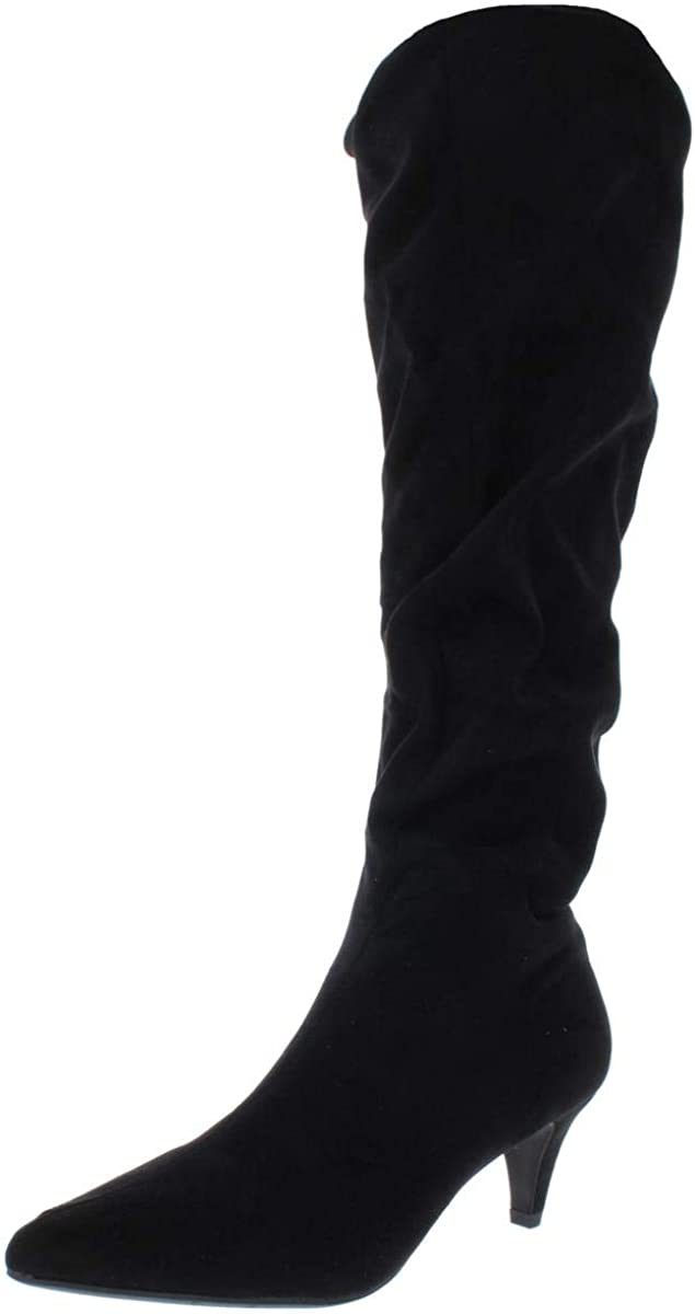 bar III Womens Edina Faux Mid-Calf Suede Boots Slouchy Lowest price challenge Los Angeles Mall