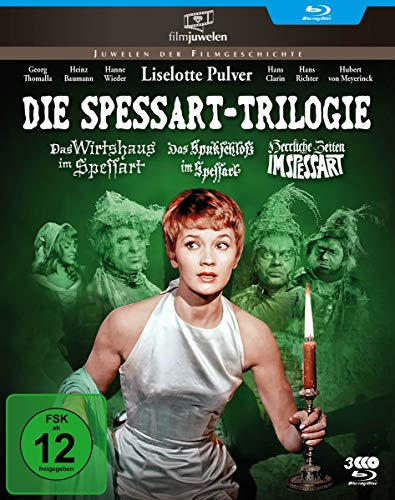 Die Spessart-Trilogie: Alle 3 Spessart-Komödien mit Lilo Pulver (Filmjuwelen) [Blu-ray]