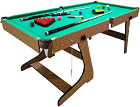 Knight Shot Foldable Billiard Table 6 Ft for Home Use