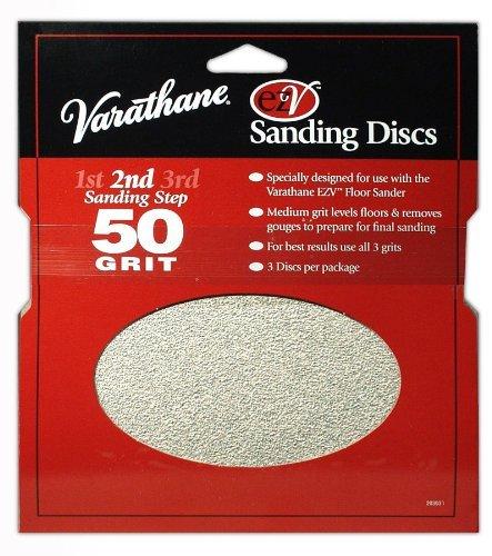 Rust-Oleum 203937 Varathane EZV 60 Grit Sanding Discs