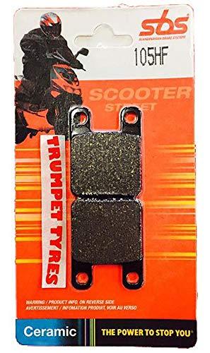 Peugeot Trekker 50 Metaal-X 01 02 03 04 05 06 07 08 SBS Prestaties Voor Keramische Remblokken Set Echte OE Kwaliteit 105HF