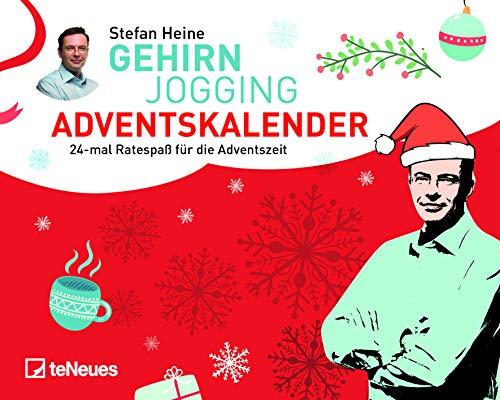 Stefan Heine Adventskalender für Erwachsene 20x16cm - Adventskalender: Tischkalender Adventskalender