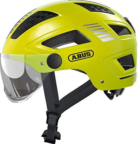 Abus City Urban fietshelm Hyban 2.0 ACE Signal Yellow XL: 58-63 cm
