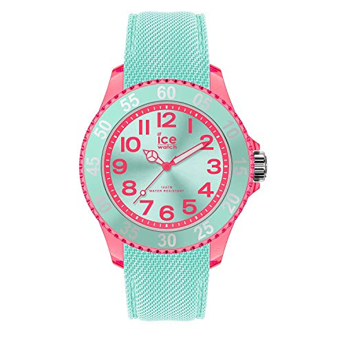 Ice-Watch - ICE cartoon Butterfly - Grüne Mädchenuhr mit Silikonarmband - 017731 (Small)
