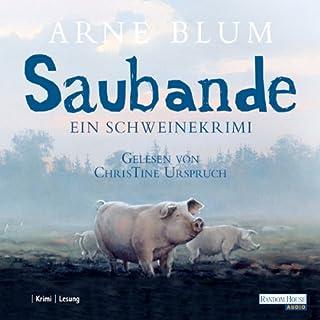 Saubande. Ein Schweinekrimi Titelbild