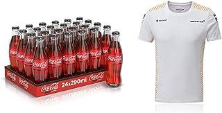 Coca-Cola Zero carbonated soft drinks glass, 24 x 290 ml + Mclaren t-shirt