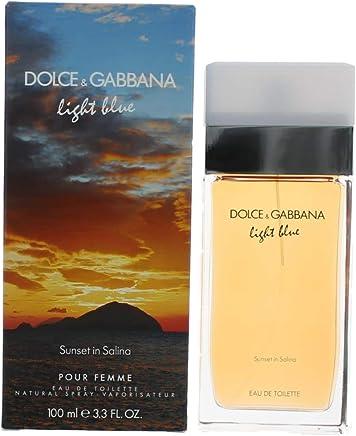 45448fab Amazon.com : Light Blue Sunset In Salina /D&G Edt Spray 3.3 Oz (100 ...