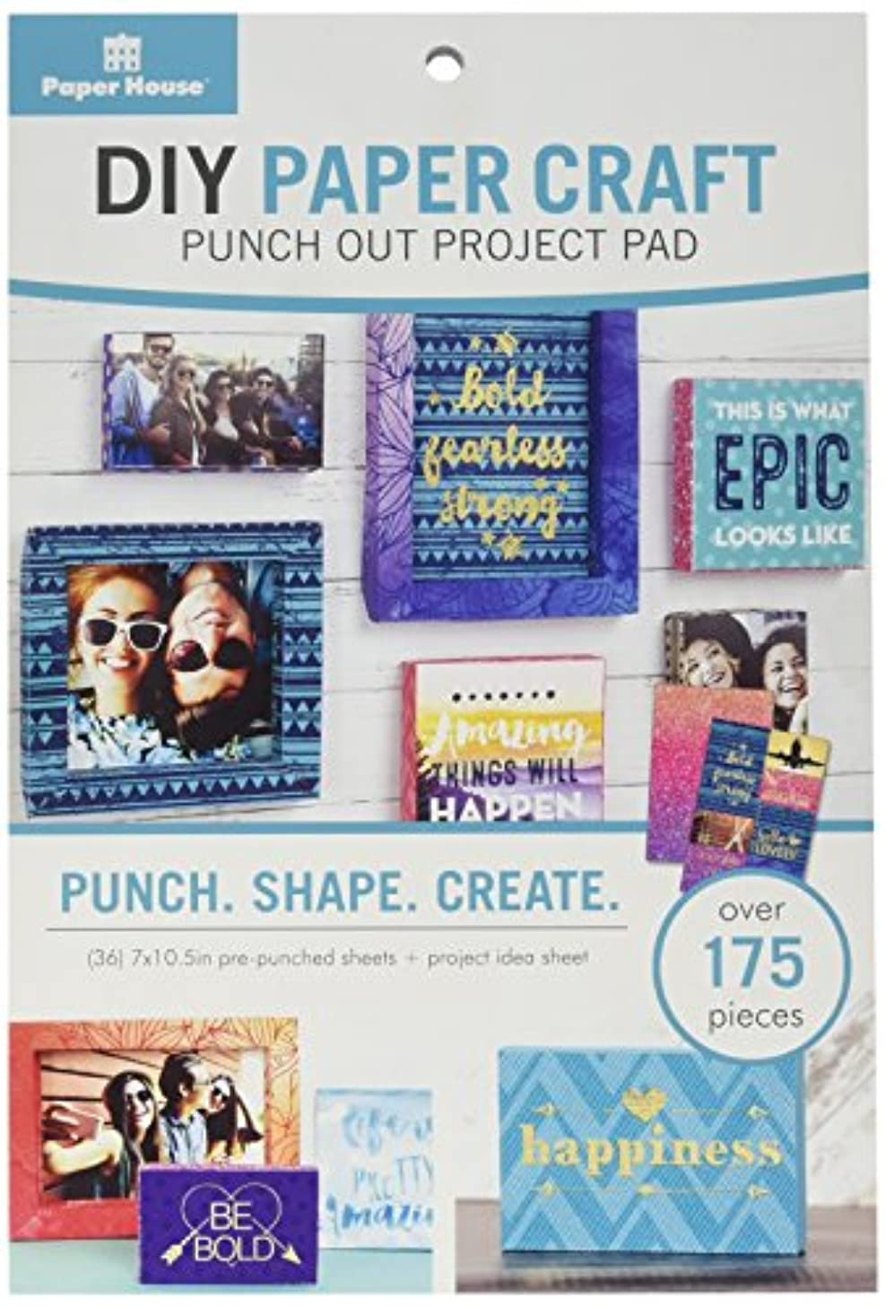 Paper House Productions Frames Paper Craft Product (15 Pack)