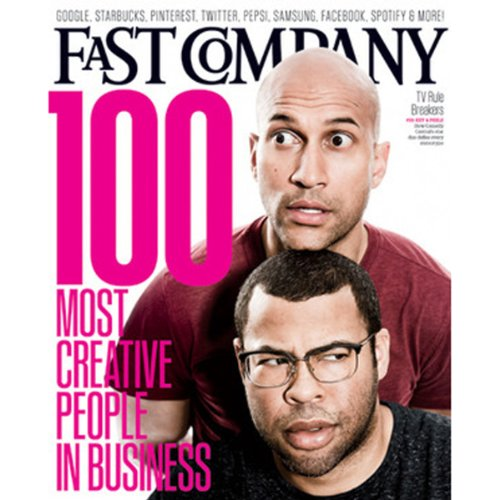 Audible Fast Company, June 2013 cover art