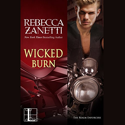 Wicked Burn audiobook cover art