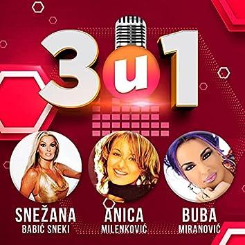 3 u 1 Snezana Babic Sneki, Anica Milenkovic, Buba Miranovic