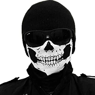 Jonty Skull Face Mask (Black, Large)