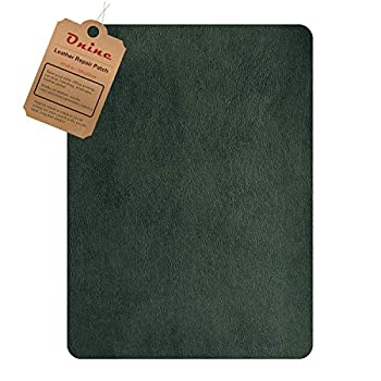 Leather Repair Patch,Self-Adhesive Couch Patch,Multicolor Available Anti Scratch Leather 8X11 Inch Peel and Stick for Sofas car Seats Hand Bags Jackets  Green
