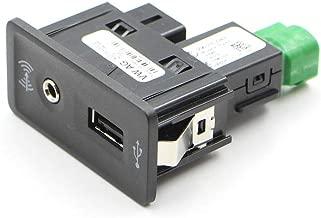 KeoKasu - Apply to VW Golf 7 MK7 CarPlay MDI USB AMI Install Plug Socket Harness Cell phone mapping 5G0 035 222 E 5G0035222E