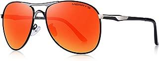 Men Classic Pilot Sunglasses HD Polarized Shield...