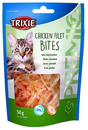 TRIXIE Snack PREMIO Chicken Filet Bites, Light, 50 g, Gato