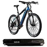 Zündapp Z801 Ebike Mountainbike 27,5 Zoll E Bike Damen Herren E-Mountainbike 650B Mountain Bike Elektro Fahrrad Männer Bikes Hardtail mit zweitem Akku