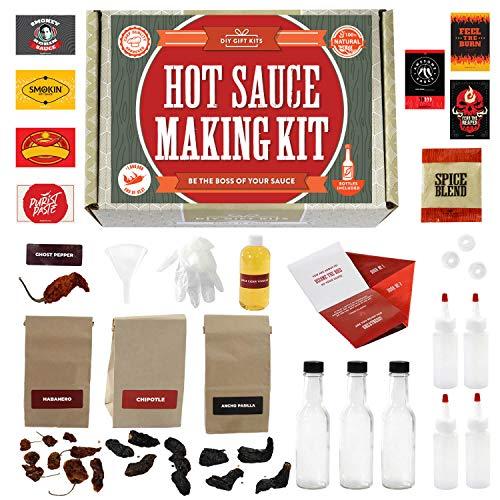 Hot Sauce Kit (Makes 7 Lip Smacking Gourmet Bottles)...