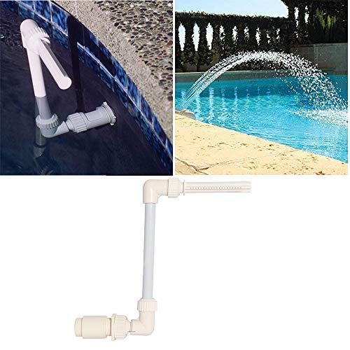 Singeru Wasserfallbrunnen Sprüher Schwimmbad Spa Wasserfall Brunnen Sprüher Untergrundpool Szene Halterung Rahmen Pool Spa Sprüher Dekor Ständer