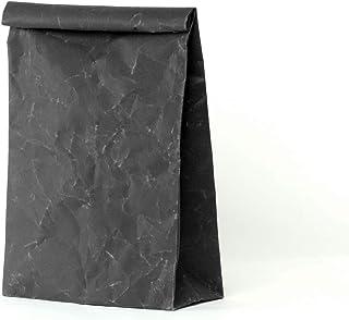 SIWA(シワ) クラッチバッグ L 特殊な和紙で作られた軽くて風合いの良いバッグ ブラック