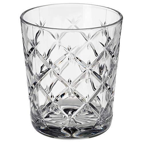 IKEA 903.193.29 Flimra Glas, Klarglas, gemustert