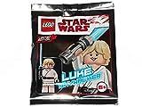 LEGO Star Wars Luke Skywalker Minifigure Foil Pack Set 911943 (Bagged)