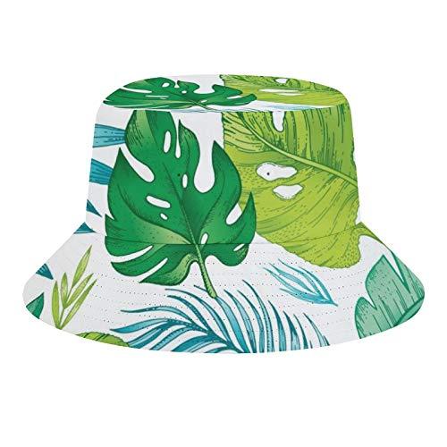 Brand Free Sombrero de pescador unisex para perro, estampado de pies de mascota, plegable, informal, para viajes, playa,...