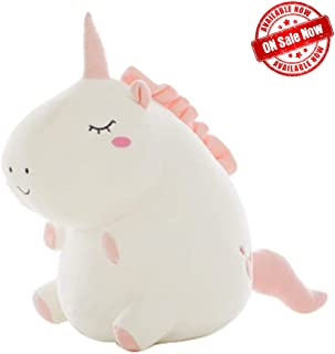 Fat Soft Unicorn Stuffed Animal,Unicorns Plush Pillow for Girls - Gift for Kids Babies Girls Birthday Party of All Ages.(12 inches)
