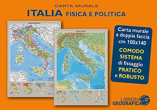 Cartina Fisica E Politica.Italia Fisica E Politica Migliori Offerte 2021