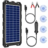 POWOXI Solar Battery Charger 12 Volt 10W...