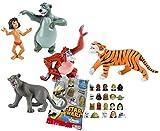 Comansi Lote 5 Figuras Bullyland El Libro de la Selva - Mowgli - Baloo - Bagheera - Rey Louie -...