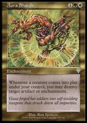 Magic The Gathering - Aura Shards - Invasion