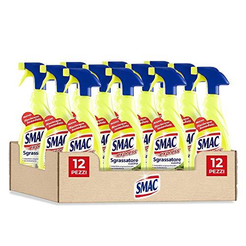 Smac - Sgrassatore Cucina Limone - 650ml x 12 pezzi - 7800ml