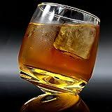 2er Set Whiskygläser | Wirbelnde Whiskey Tumbler | Perfektes Bar Geschenkset | Spirituosen, Whisky, Bourbon oder Scotch | M&W - 8