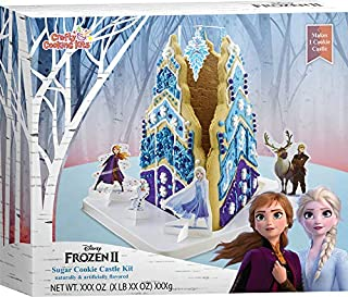Crafty Cooking Kits Disney Frozen II Olaf's Holiday Ice Hut Gingerbread Cookie Kit - Contents Net Wt. 17.68 oz