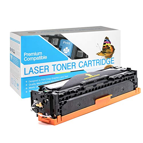 SuppliesOutlet Compatible Toner Cartridge Replacement for HP 125A (CB540A) (Black,1 Pack)