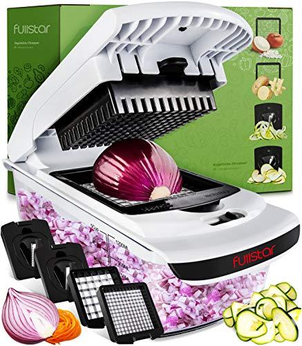 Fullstar Vegetable Chopper - Spiralizer Vegetable...