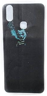 جلد خلفي من ألياف الكربون ، مطبوع بالليزر مطفي وناعم ، سهل التركيب فيفو Y11 - 2725610035867