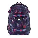 coocazoo Schulrucksack ScaleRale Purple Illusion lila-rosa, ergonomischer Tornister, höhenverstellbar mit Brustgurt und Hüftgurt für Mädchen ab der 5. Klasse, 30 Liter