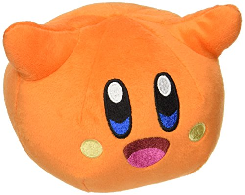"""Little Buddy 1681 Kirby Adventure All Star-Scarfy Plush, 4"""", Multi-Colored"""